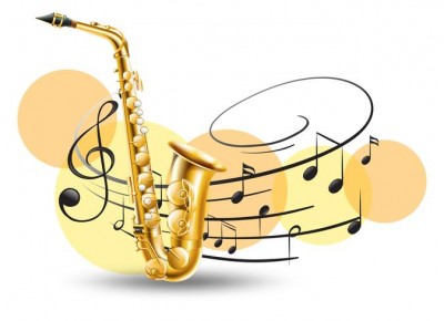 golden-saxophone-with-music-notes-in-background-vector